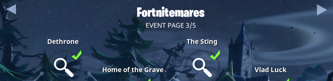 Fortnitemares event rewards free V-Bucks