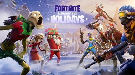 Survive the Holidays Fortnite Christmas event.